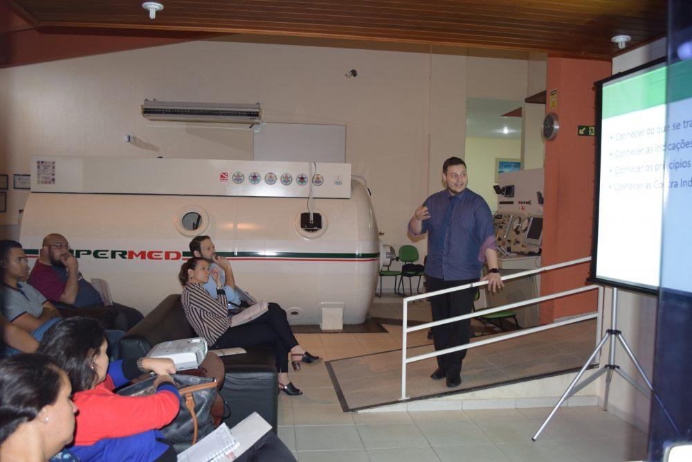 Aconteceu em Campinas o 1º Curso Hypermed Introdutório de Oxigenoterapia Hiperbárica